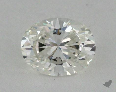 0.72 Carat G-VVS1 Oval Cut  Diamond