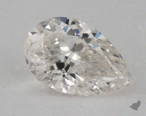 0.73 Carat G-IF Pear Cut Diamond 