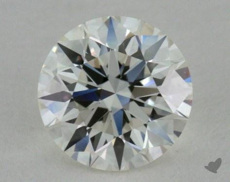 0.82 Carat I-VVS1 Excellent Cut Round Diamond