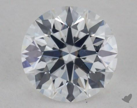 0.58 Carat D-SI1 True Hearts<sup>TM</sup> Ideal Diamond