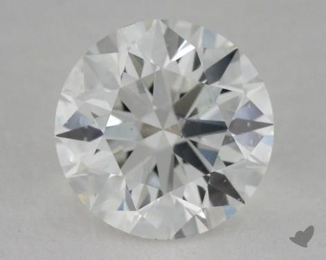1.04 Carat F-SI2 Ideal Cut Round Diamond