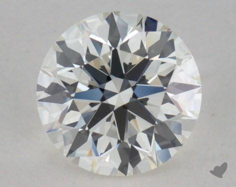 0.81 Carat I-VVS1 True Hearts<sup>TM</sup> Ideal Diamond