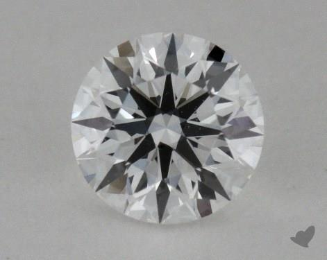 0.33 Carat E-VS1 True Hearts<sup>TM</sup> Ideal Diamond