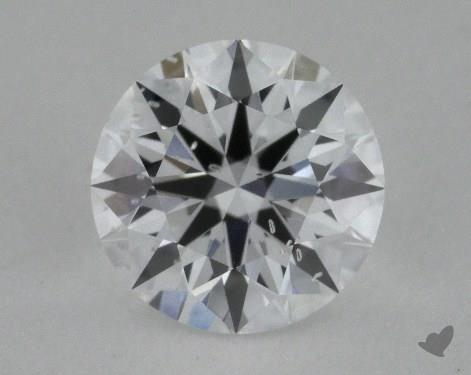 0.79 Carat D-SI2  True Hearts<sup>TM</sup> Ideal  Diamond