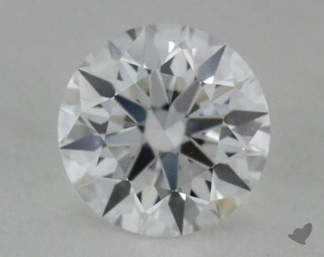 0.52 Carat E-VVS2 True Hearts<sup>TM</sup> Ideal Diamond