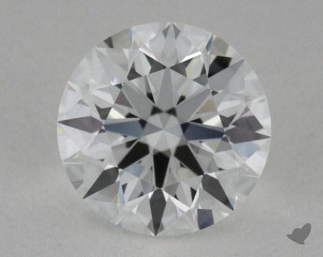 0.65 Carat E-VS1 True Hearts<sup>TM</sup> Ideal Diamond