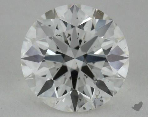 1.08 Carat H-SI2 True Hearts<sup>TM</sup> Ideal Diamond