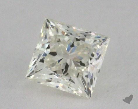 0.76 Carat J-VVS1 Very Good Cut Princess Diamond