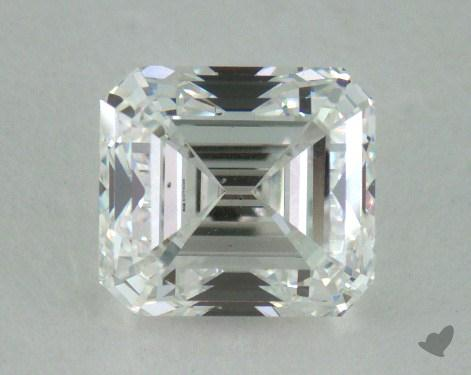 0.87 Carat F-VS2 Emerald Cut Diamond