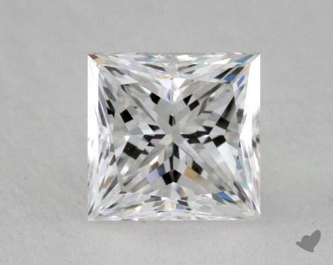 1.00 Carat F-VVS2 Very Good Cut Princess Diamond