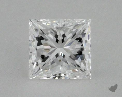 0.50 Carat D-VVS2 Ideal Cut Princess Diamond
