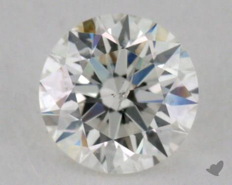 0.54 Carat E-SI2 Excellent Cut Round Diamond