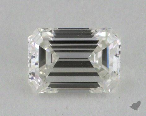 0.61 Carat G-VVS1 Emerald Cut Diamond