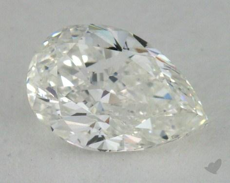 0.91 Carat G-SI1 Pear Cut Diamond