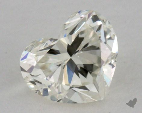 0.59 Carat K-VS2 Heart Shape Diamond