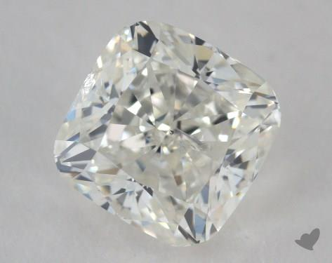 1.51 Carat I-SI2 Cushion Cut Diamond