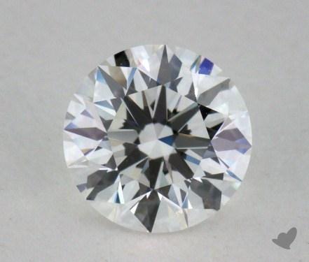 0.62 Carat E-IF Excellent Cut Round Diamond