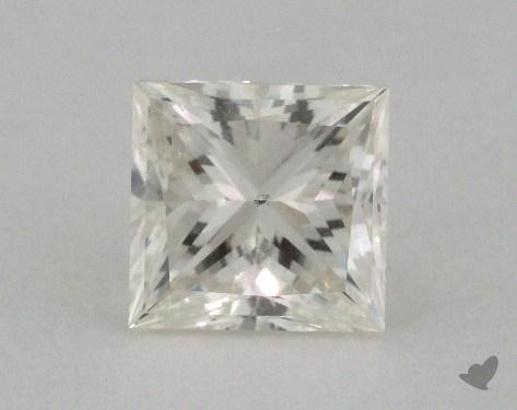 0.71 Carat K-VS2 Very Good Cut Princess Diamond