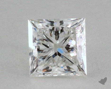 1.08 Carat F-VS2 Ideal Cut Princess Diamond