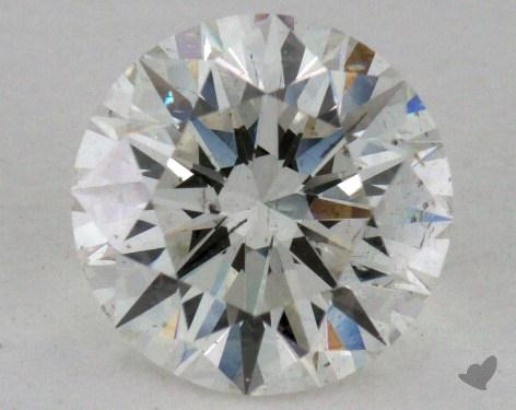 1.54 Carat I-SI2 Excellent Cut Round Diamond