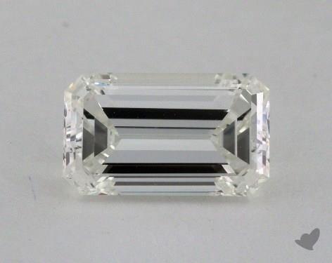 1.44 Carat J-VVS1 Emerald Cut Diamond