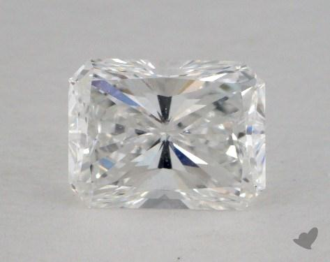 1.26 Carat F-VVS1 Radiant Cut Diamond