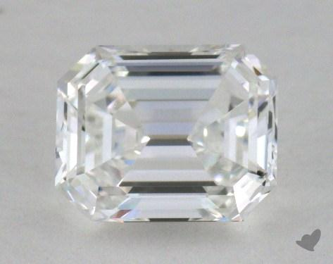 0.76 Carat F-IF Emerald Cut  Diamond