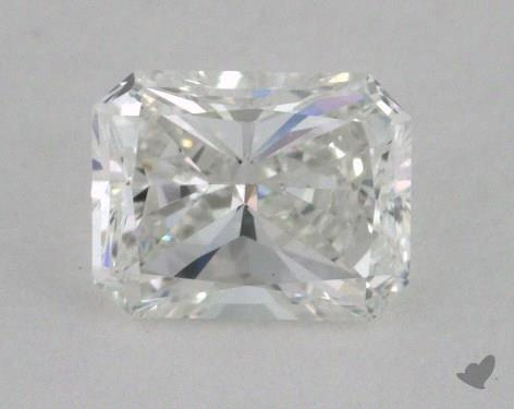 0.44 Carat F-VS2 Radiant Cut  Diamond