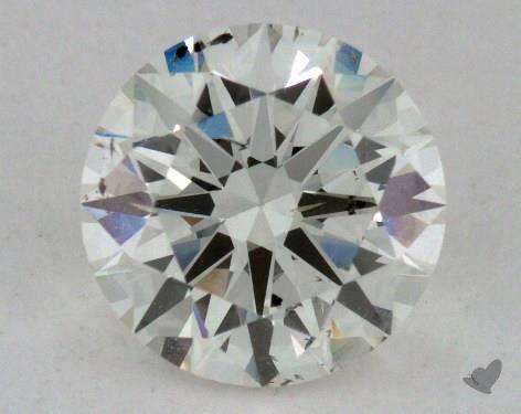 1.27 Carat J-SI2 Excellent Cut Round Diamond