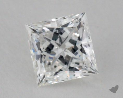 0.38 Carat G-SI2 Very Good Cut Princess Diamond