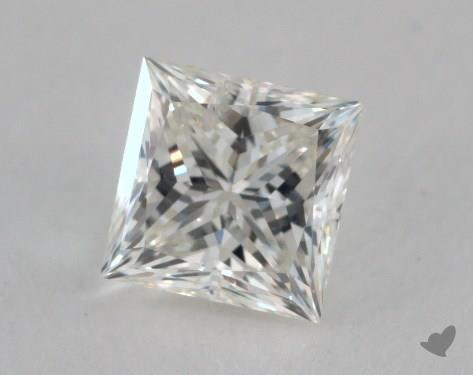 0.51 Carat D-SI2 Princess Cut Diamond