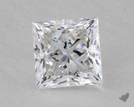 0.63 Carat E-SI1 Ideal Cut Princess Diamond