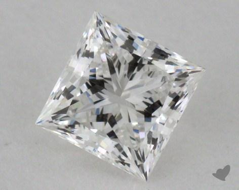 0.63 Carat G-VS1 Ideal Cut Princess Diamond