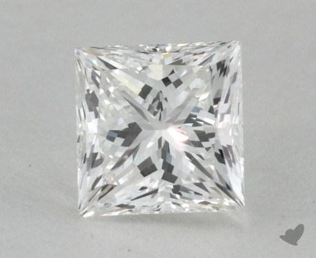 0.71 Carat F-VS1 Very Good Cut Princess Diamond