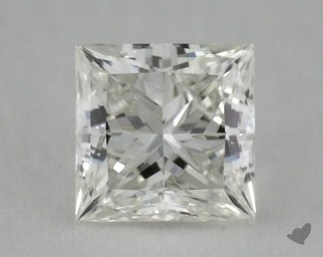 0.77 Carat J-VVS2 Ideal Cut Princess Diamond