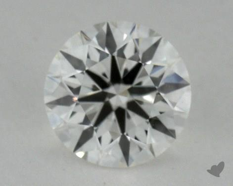 0.66 Carat I-SI2  True Hearts<sup>TM</sup> Ideal  Diamond