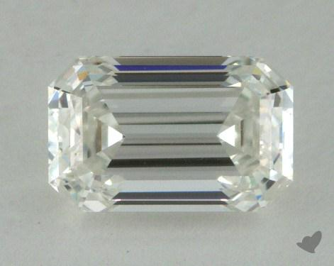 1.00 Carat H-VVS1 Emerald Cut Diamond 
