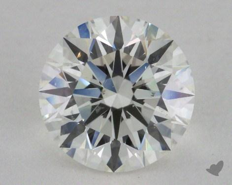 2.31 Carat I-SI1 Excellent Cut Round Diamond 