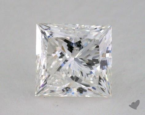 1.66 Carat G-I1 Princess Cut  Diamond