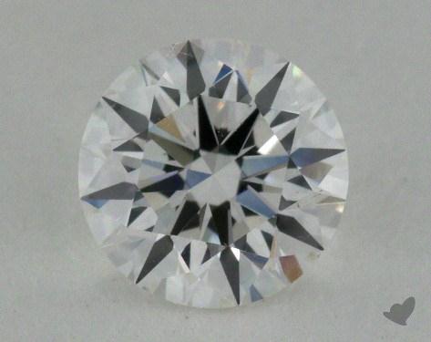 0.80 Carat F-SI1 True Hearts<sup>TM</sup> Ideal Diamond