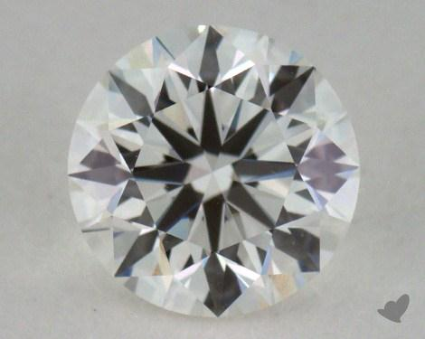 0.90 Carat H-VS1 Excellent Cut Round Diamond