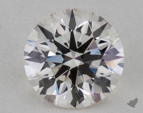 0.72 Carat I-VVS1 Excellent Cut Round Diamond