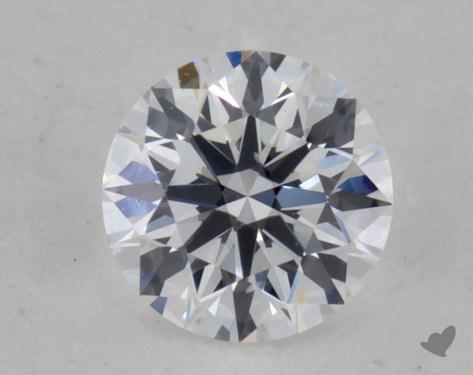 0.25 Carat E-VS2 Excellent Cut Round Diamond