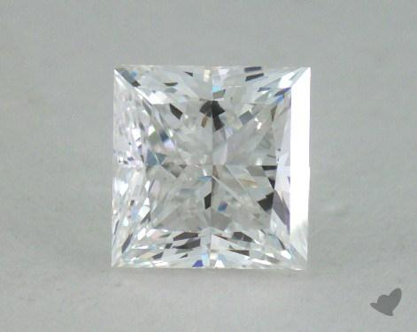 0.81 Carat D-VS1 Princess Cut  Diamond