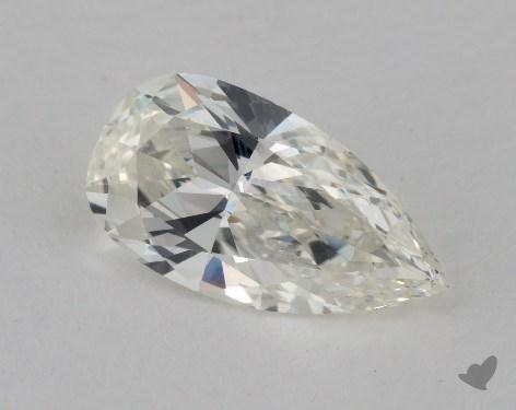 1.72 Carat J-VVS2 Pear Shape Diamond