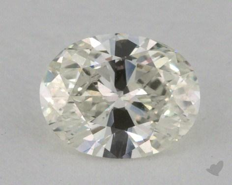 0.71 Carat K-VVS2 Oval Cut Diamond