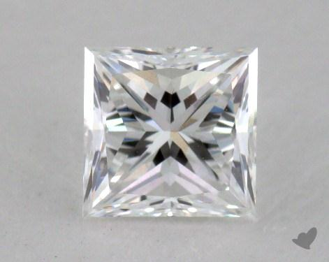 0.91 Carat E-VVS1 Very Good Cut Princess Diamond
