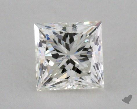 0.72 Carat H-SI2 Princess Cut  Diamond