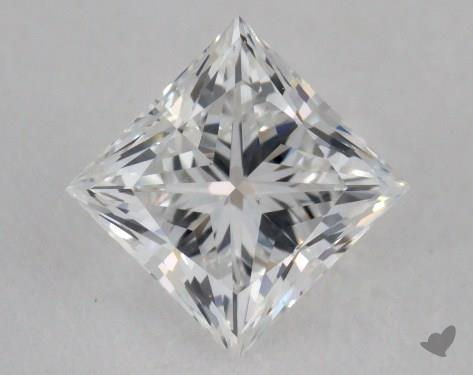 0.80 Carat F-VS2 Ideal Cut Princess Diamond