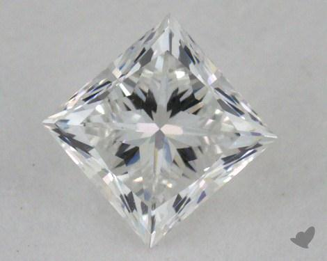 0.44 Carat D-VS1 Ideal Cut Princess Diamond